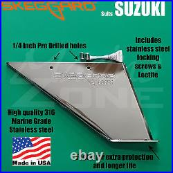 SKEGGARD SUZUKI OUTBOARD SKEG GUARD, 40hp -300hp 2 & 4 strokes. Advise on model