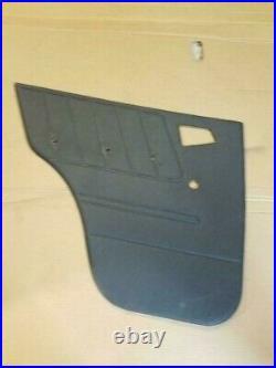 SUZUKI SIDEKICK GEO TRACKER Driver REAR Door Panel CARD 4 door model ONLY