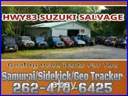 SUZUKI SIDEKICK (SPORT) 96 97 98 4 DOOR MODEL ROCKER TRIM PANEL Driver SIDE