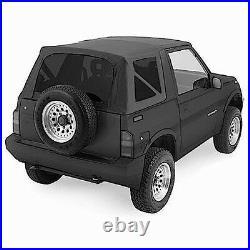 Sale! 1988-1994 Suzuki Sidekick Geo Tracker Soft Top Black with Tinted Windows