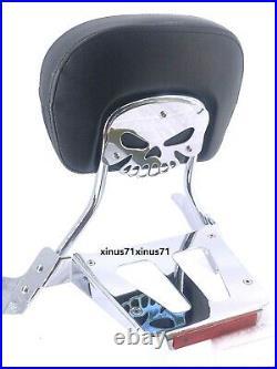 Sissy Bar Backrest Luggage Rack & Docking Hardware Suzuki Boulevard M109R Models