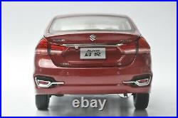 Suzuki Alivio car model in scale 118 Red