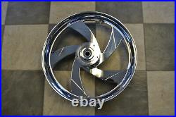 Suzuki M109 21 Inch Stock Style Wheel Kit for ALL YEAR M109 Models CHROME FINISH