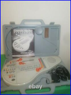 Suzuki Omnichord System 2 Two Model OM-84 With Case/Manual/Power Cord