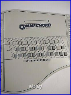 Suzuki Omnichord System Two Model OM-84 & Charger Tested (Read Description)