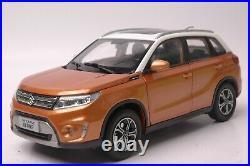 Suzuki Vitara car model in scale 118 Orange/white
