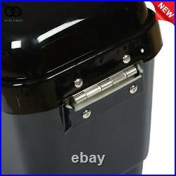 Universal Hard Bags Motorcycle Saddlebags Luggage Bag for Yamaha Suzuki Honda