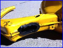 Vintage 1983 SUZUKI FA50 FRAME Model D YELLOW FA 50 with CLEAR CURRENT TITLE